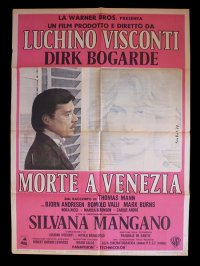 イタリア 映画 アンティークポスター La morte a Venezia (1971) ベニスに死す ルキノ・ヴィスコンティ 100 x 140 cm manifesti