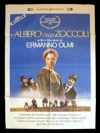 イタリア 映画 アンティークポスター L'albero degli zoccoli (1978年) 木靴の樹 エルマンノ・オルミ 100 x 140 cm manifesti