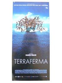 イタリア 映画 アンティークポスター  Terraferma (2011年) 海と大陸  エマヌエーレ・クリアレーゼ 第68回ヴェネツィア国際映画祭審査員特別賞 33 x 70 cm locandine