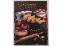 【数量限定】アンティーク風 サインプレート ラザニア Lasagne【カラー・ブラック】【カラー・ブラウン】