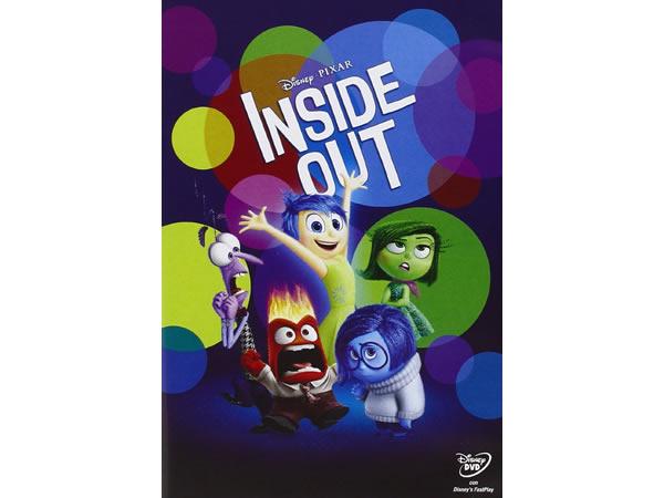 イタリア語などで観るディズニーの「インサイド・ヘッド」 DVD