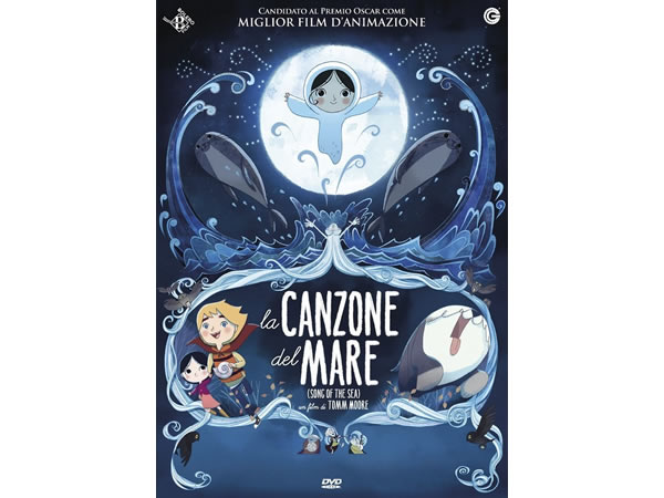 画像1: イタリア語で観る、トム・ムーアの「ソング・オブ・ザ・シー 海のうた」 DVD 【B1】