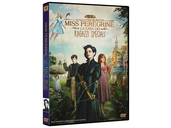 画像1: イタリア語などで観るティム・バートンの「ミス・ペレグリンと奇妙なこどもたち」 DVD  【B1】【B2】