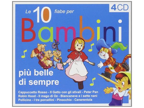 イタリア語で聞いて楽しい10の童話集 CD オーディオブック