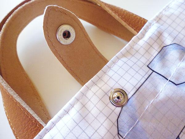 画像5: 可愛い動物柄 イタリアのレザー使いお買い物バッグ  【カラー・マルチ】