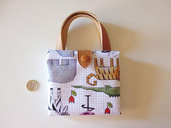 画像4: 可愛い動物柄 イタリアのレザー使いお買い物バッグ  【カラー・マルチ】
