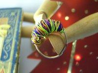 遊び心あるポップなイメージ リング・指輪 【カラー・マルチ】