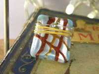 シックに手元を彩る リング・指輪 【カラー・ブルー】【カラー・グレー】