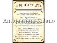 イタリア語パネル 完璧な医師 IL MEDICO PERFETTO 【カラー・イエロー】