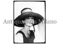 イタリア・パネル オードリー・ヘプバーン Audrey Hepburn【カラー・ブラック】【カラー・グレー】