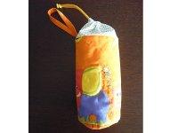 Ciuccio Milano イタリア製ベビーアイテム 哺乳瓶ケース ペットボトルポーチ【カラー・オレンジ】【カラー・グリーン】
