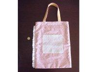 Ciuccio Milano イタリア製ベビーアイテム コットンバッグ 【カラー・ピンク】【カラー・ホワイト】