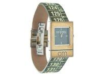 イタリアンレザーを使ったメジャー・ブレスレット腕時計 レザー Cuba Green 【カラー・グリーン】【カラー・グレー】