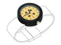 イタリア メジャー・ブレスレット用腕時計 レザー TimePlug RoundEgg【カラー・ブラック】【カラー・オレンジ】