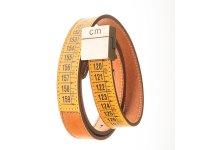 Il Centimetroのメンズベルト Lowerbelt Classic Yellow 105cm 【イエロー】【オレンジ】
