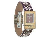 イタリアンレザーを使ったメジャー・ブレスレット腕時計 レザー Arizona Brown 【カラー・ブラウン】