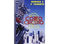 イタリア語などで観るケネス・ジョンソンの「ショート・サーキット2 がんばれ!ジョニー5」 DVD  【B1】【B2】