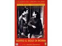 イタリア語で観るイタリア映画 アルベルト・ソルディ 「Sotto il sole di Roma」 DVD  【B2】【C1】