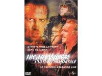 イタリア語などで観るショーン・コネリーの「ハイランダー 悪魔の戦士」 DVD 【B1】【B2】【C1】