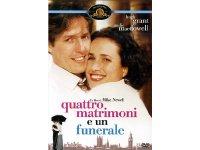 イタリア語などで観るヒュー・グラントの「フォー・ウェディング」 DVD  【B1】【B2】