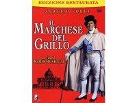 イタリア語で観るイタリア映画 アルベルト・ソルディ 「Il Marchese Del Grillo」 DVD  【B2】【C1】