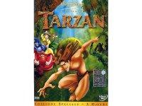 イタリア語などで観るディズニーの「ターザン」 DVD 2枚組【A2】【B1】