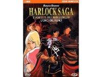 イタリア語で観る、松本零士の「ハーロック・サーガ ニーベルングの指環」DVD 2枚組【B1】【B2】
