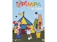 イタリア語で観るイタリアのアニメ映画 ピンパ「Pimpa al circo」 DVD【A1】【A2】【B1】【B2】