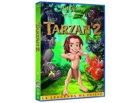 イタリア語などで観るブライアン・スミスの「ターザン2」 DVD【B1】【B2】