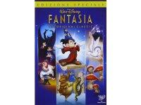 イタリア語などで観るディズニー ミッキーマウスの「ファンタジア」 DVD【A2】【B1】