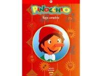 イタリア語で観る遠藤政治、斉藤博の「ピコリーノの冒険」 DVD10枚組  ピノッキオ ピノキオ【B1】【B2】