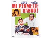 イタリア語で観るイタリア映画 アルベルト・ソルディ 「Mi Permette Babbo!」 DVD  【B2】【C1】