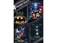 イタリア語などで観る「バットマン・コレクション」 DVD 4枚組【B1】【B2】【C1】