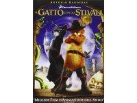 イタリア語などで観る「長ぐつをはいたネコ」 DVD【B1】【B2】【C1】