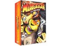 イタリア語などで観る「マダガスカル 1, 2, 3」 DVD 3枚組【A2】【B1】