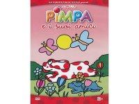 イタリア語で観るイタリアのアニメ映画 ピンパ「Pimpa e i suoi amici」 DVD【A1】【A2】【B1】【B2】