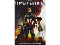 イタリア語、英語で観るジョー・ジョンストンの「キャプテン・アメリカ/ザ・ファースト・アベンジャー」 DVD  【B1】【B2】