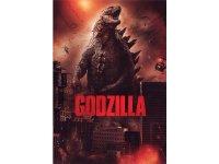 イタリア語などで観る渡辺謙の「GODZILLA ゴジラ」 DVD  【B1】【B2】