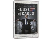 イタリア語などで観るケヴィン・スペイシーの「ハウス・オブ・カード 野望の階段 シーズン1」 DVD 4枚組  【B2】【C1】