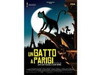 イタリア語などで観るアラン・ガニョルの「パリ猫ディノの夜」 DVD【B1】【B2】