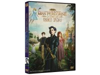 イタリア語などで観るティム・バートンの「ミス・ペレグリンと奇妙なこどもたち」 DVD  【B1】【B2】