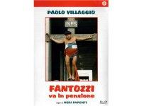 イタリアのコメディ映画Paolo Villaggio 「Fantozzi Va In Pensione」DVD 【A1】【A2】【B1】
