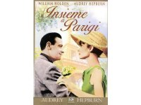 イタリア語などで観るリチャード・クワインの「パリで一緒に」 DVD  【B2】【C1】