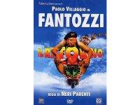 イタリアのコメディ映画Paolo Villaggio 「Fantozzi - Il Ritorno」DVD 【A1】【A2】【B1】