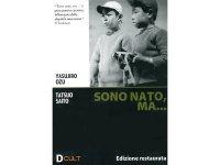 イタリア語で観る、小津安二郎の「大人の見る繪本 生れてはみたけれど」 DVD 【B1】【B2】
