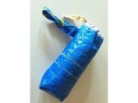 IKEARTE イタリア製イケアのガジェット ナイロンペットボトルケース 【カラー・ブルー】