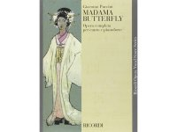 楽譜 MADAMA BUTTERFLY - Ricordi Opera Vocal Series - PUCCINI - RICORDI
