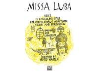楽譜 Missa Luba: Mass in Congolese Style for Mixed Chorus With Tenor Soloist and Percussion