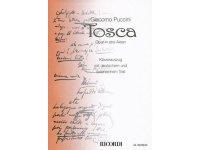 楽譜 Tosca - Puccini - RICORDI
