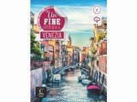 オーディオ付き 読み物 + 練習問題集 ヴェネツィアでの1週間 Una fine settimana a Venezia + MP 3【A1】